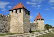 Die Festung am Bieger, Transnistrien lizenzfreie stockfotografie