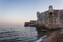 Die Festung der alten Stadt von Budva Stockfoto