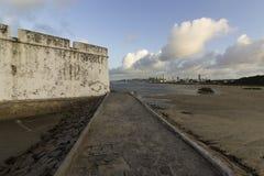 Die Festung der drei weisen Männer stockbild