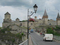 Die Festung Kamenetz Podolsky Stockfotos