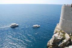 Die Festung und das Meer Stockfoto