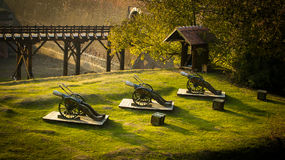 Die Festung von Alba Iulia Lizenzfreies Stockbild