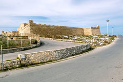 Die Festung von Borj EL Kebir in Mahdia Lizenzfreie Stockfotos