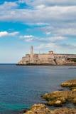 Die Festung von EL Morro in Havana Stockfotografie