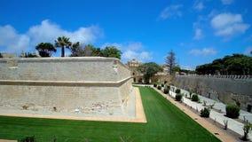 Die Festung von Mdina, Malta stock footage