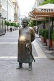 Die fette Polizist-Statue Lizenzfreie Stockbilder