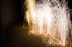Die Feuerwerke Stockbild