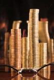 Die Finanzzeit - 2. Stockfoto