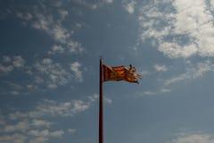 Die Flagge von Venedig stockfotos