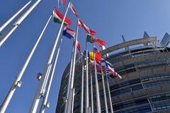Die Flaggen des EU-Zustandssymbols des Verbands 04 Lizenzfreies Stockfoto