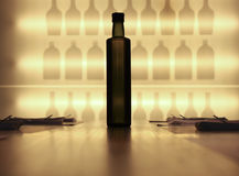 Die Flasche Lizenzfreie Stockfotografie