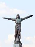 Die Flieger-Statue stockfoto