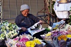 Die Floristen Lizenzfreie Stockfotografie