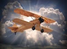 Die Flugzeuge. Lizenzfreie Stockfotos