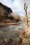 Die Fluss-Taube, Dovedale, Höchstbezirks-Nationalpark Lizenzfreie Stockfotos