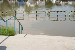 Die Flut vom See Lizenzfreies Stockbild
