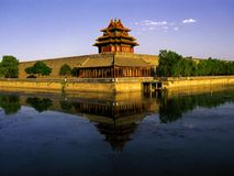 Die Forbiden Stadt, Peking Lizenzfreies Stockbild