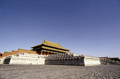 Die Forbiden Stadt Peking Lizenzfreies Stockfoto