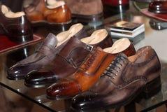 Die formalen Schuhe der Männer Lizenzfreie Stockfotos