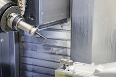 Die Fräsmaschine 5 Achse CNC Lizenzfreies Stockfoto