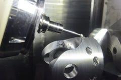 Die Fräsmaschine 5 Achse CNC Lizenzfreie Stockfotografie