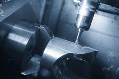 Die Fräsmaschine 5 Achse CNC Stockbild
