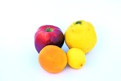 Die Früchte von verschiedenen Farben Stockfotografie