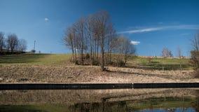 Die Frühlingslandschaft Stockfotografie