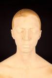 Die Frau mit der Gesichtsmaske Lizenzfreies Stockfoto