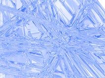Die freezed Oberfläche. Lizenzfreies Stockbild