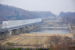 Die Freiheitsbrücke Stockbilder