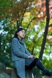 Die Freizeit im Herbst Lizenzfreies Stockfoto