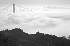 Die Freude der Golden Gate-Brücke-Fotografen Stockfotografie