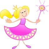 Die freundliche Prinzessin Lizenzfreie Stockfotos