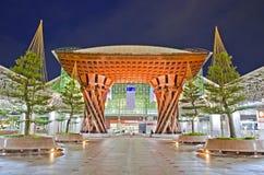 Die Front von Kanawaza-Station Stockfotografie