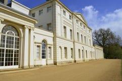 Die Front von Kenwood-Haus in Hampstead London Großbritannien lizenzfreie stockfotos