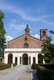 Die Frontseite der Chiaravalle Kirche Lizenzfreie Stockbilder