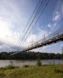 Die Fußbrücke Lizenzfreies Stockfoto