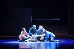 Die Furcht vor Tod-Jiangxi-Oper eine Laufgewichtswaage Lizenzfreie Stockfotos