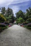 Die Gärten des Hainpark in Bamberg Lizenzfreie Stockfotos