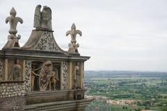 Die Gärten des Landhauses D'este Lizenzfreie Stockbilder