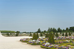 Die Gärten des Palastes von Versailles Stockbild