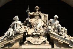 Die Göttin von Gerechtigkeit Stockfoto