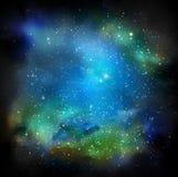 Die Galaxie Stockbild