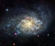 Die Galaxie Lizenzfreie Stockfotografie