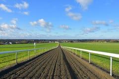 Die Galopps Newmarket, Suffolk, Großbritannien Lizenzfreies Stockfoto