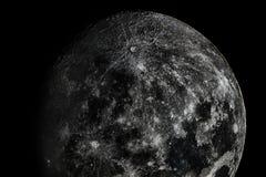 Die ganze Schönheit des Mondes Stockbild