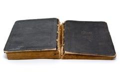 Die geöffnete Bibel stockfotos