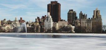 Die Gebäude im Manhattan-landview Lizenzfreie Stockfotografie