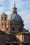 Die Gebäude von Rom. stockfotos